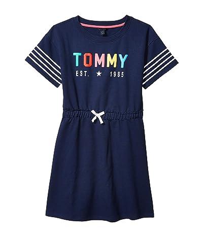 Tommy Hilfiger Kids EST1985 Dress (Big Kids) (Flag Blue) Girl