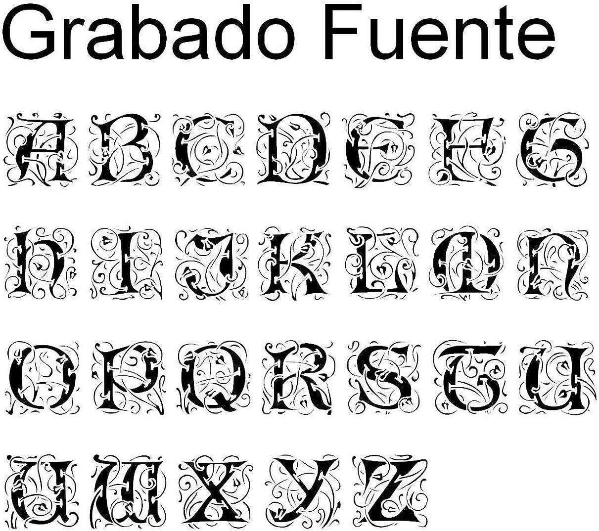Grabado Personalizado MeMeDIY Negro El Tono De Plata Acero Inoxidable Anillo Ring Banda Venda Tuerca de Tornillo