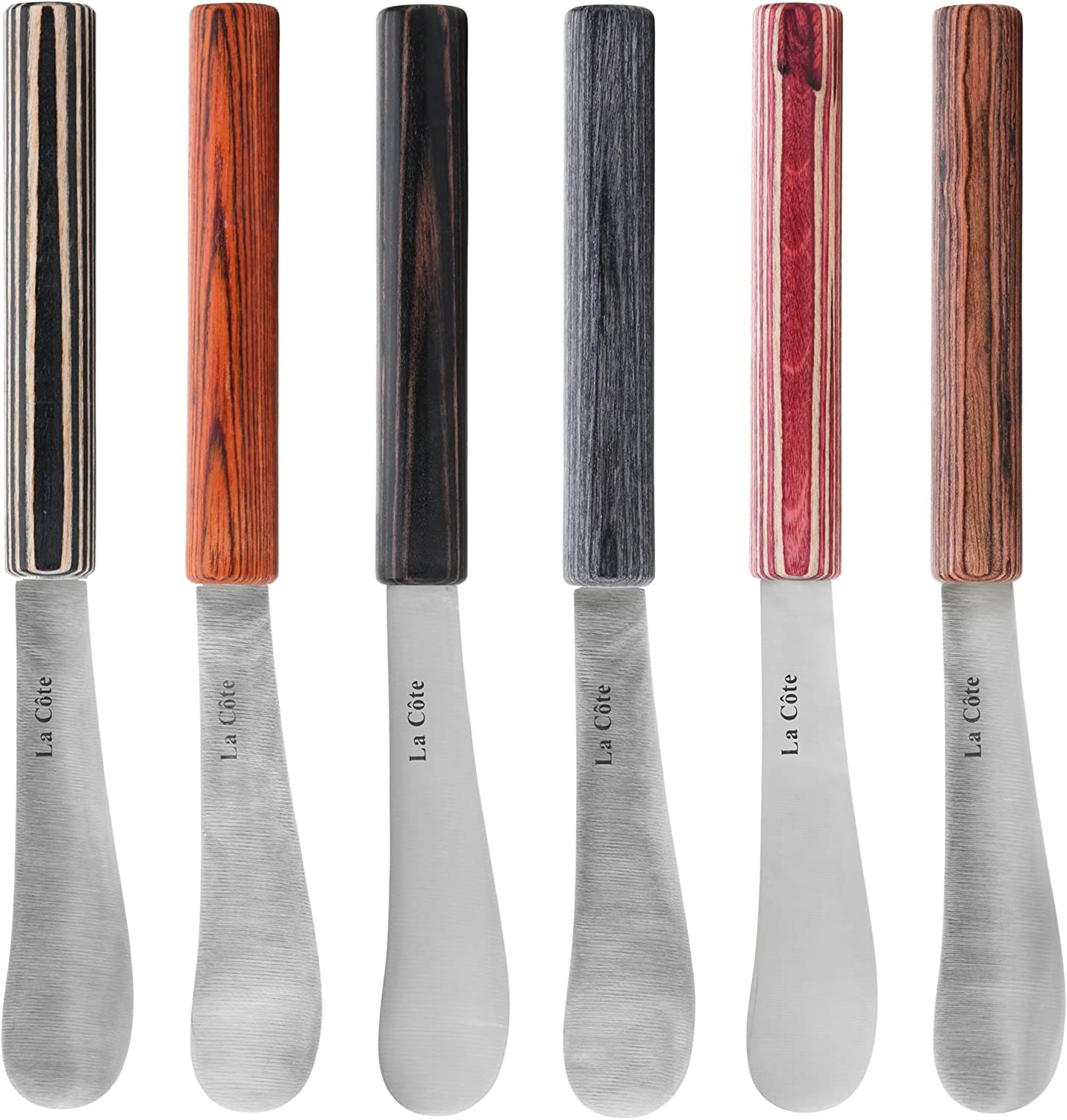 La Cote 6 Piece Cheese Knife Steel Blade Spreader Trust Stainless Set Sales of SALE items from new works