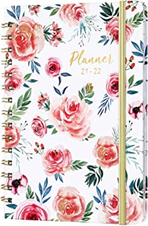"""Planner 2021-2022 - Academic Planner 2021-2022 Weekly & Monthly, Jul 2021 - Jun 2022, 6.37""""x 8.46"""", Monthly Tabs, Back Poc..."""