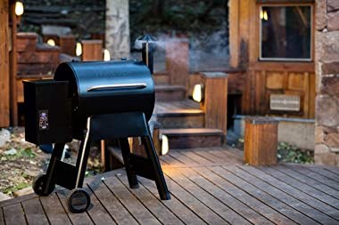 Traeger Grills Pro Series 22 Electric Wood Pellet Grill and Smoker, Bronze
