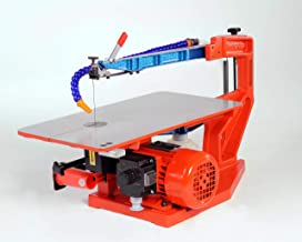 Hegner 266000 00266000 Multicut 2S-Sierra de marquetería eléctrica (400-1400 RPM Paso: 46 cm, Altura 65 cm), Naranja
