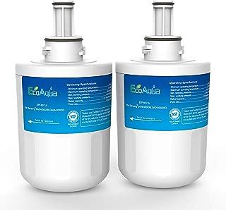 EcoAqua EFF-6011A Replacement Filter, Compatible with Samsung DA29-00003G, Aqua-Pure Plus DA29-00003B, HAFCU1, DA29-00003A, 2 Pack