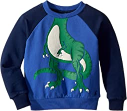 Joules Kids - Novelty Dino Sweatshirt (Toddler/Little Kids)
