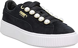 PUMA Suede Platform Bling Womens Sneakers Black