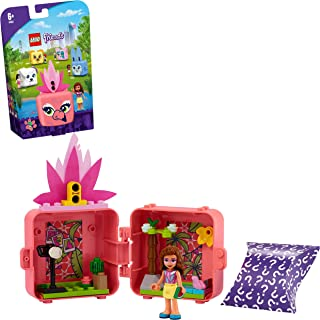 LEGO 41662 Friends Olivia's Flamingo Cube Series 4 Mini Set, Collectible Travel Toy