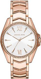 Michael Kors Whitney Women's White Dial Stainless Steel Analog Watch - MK6694