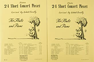 Best 24 short concert pieces for flute and piano Reviews