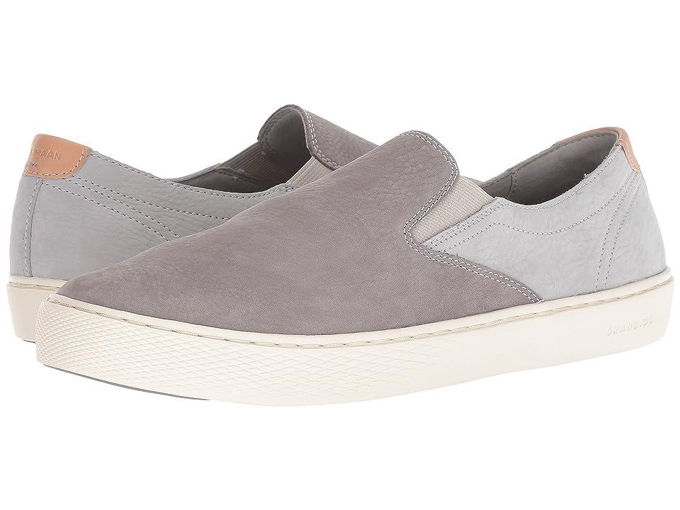 Cole Haan Grandpro Deck Slip-On Sneaker (Ironstone/Vapor Gray Nubuck) Men