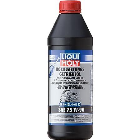 Liqui Moly 1414 Vollsynthetisches Getriebeöl Gl5 Sae 75w 90 1 L Auto