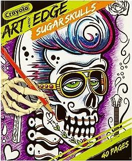 Crayola Art with Edge Sugar Skulls Book, Multi-Colour, Cy04-0031
