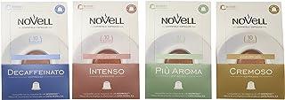 comprar comparacion Cafes Novell, Cápsulas de café (Pack degustación) - 4 de 10 cápsulas (Total 40 cápsulas)