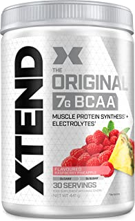 XTEND Original BCAA Powder Raspberry Pineapple   BCAA-supplement   7 g BCAA's + Elektrolyten voor herstel & hydratatie   3...