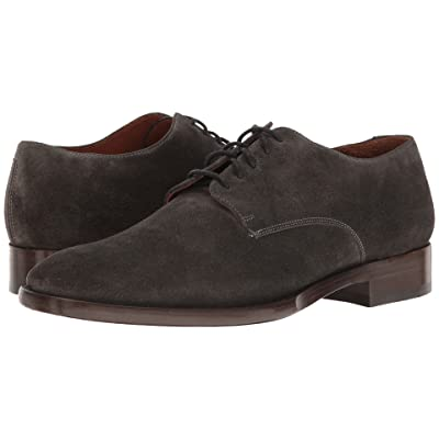 Frye Westley Oxford (Charcoal Soft Oiled Suede) Men
