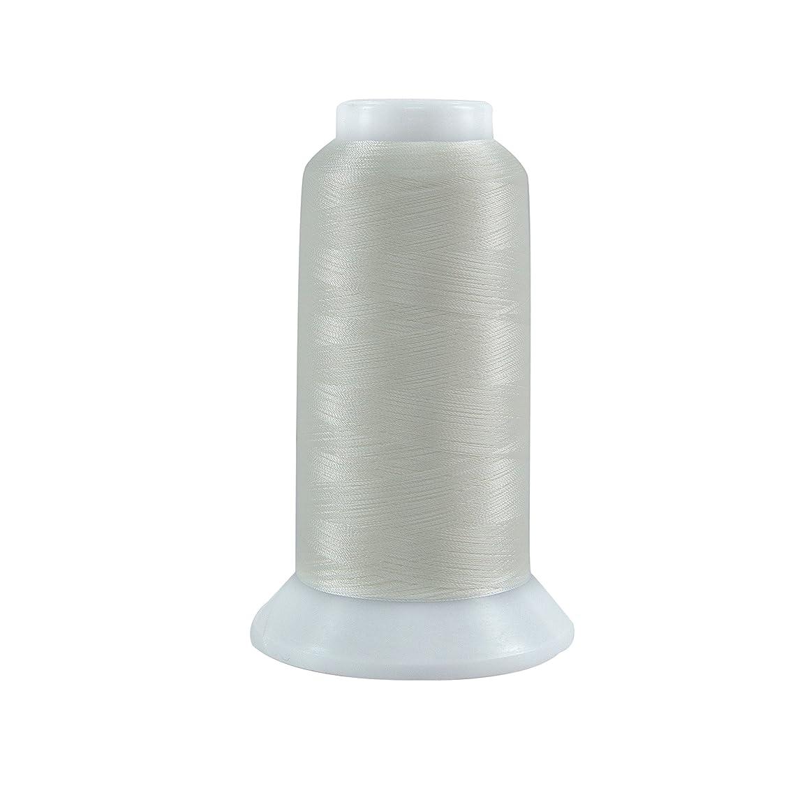 Superior Threads 11402-624 Bottom Line Polyester Thread, 3000 yd, Natural White
