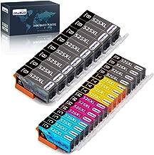 OfficeWorld Replacement for Canon PGI-525 CLI-526 Ink Cartridges PGI-525XL CLI-526XL Compatible for Canon MG6150 MG6250 MG5350 MG5150 iX6550 MG5250 iP4850 iP4950 MG8150 MG8250 MX885 MX895 MX715