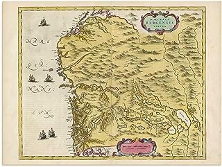 sogn og fjordane map