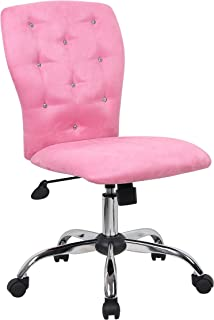 Boss Office Products Tiffany Modern Office Chair in Pink