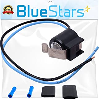 5303918214 Refrigerator Defrost Thermostat kit by Blue Stars - Exact Fit for Frigidaire Kenmore Electrolux fridges - Replaces 75303918214, 892545, AP2150145