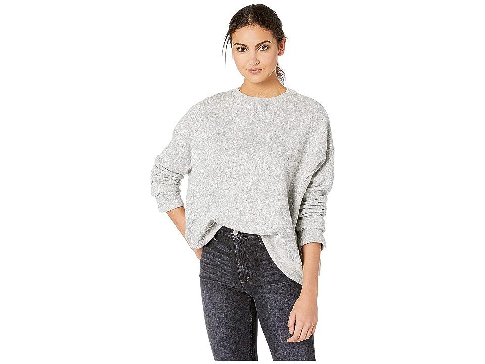 Image of AG Adriano Goldschmied Berdine Sweater (Heather Grey) Women's Sweater