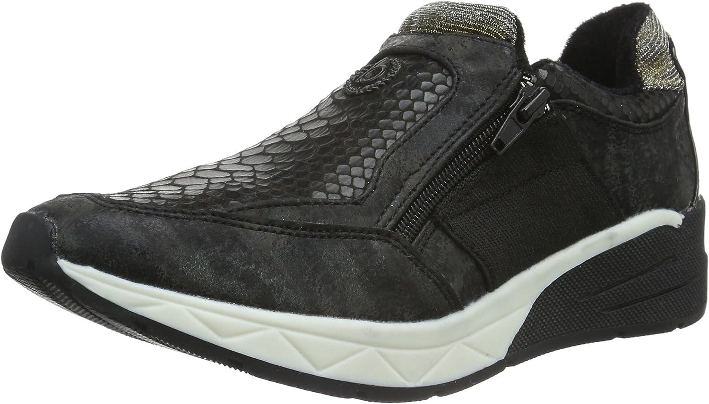 Women flat Slipper black, (black) J8363PR6N-100