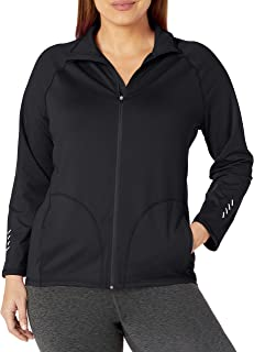 Women's Plus Size Active Full-Zip Mock Neck Jacket