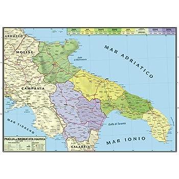 Cartina Muta Puglia.Superficial Proprietar Masa Finala Cartina Della Campania Fisica Amazon Mariacastrojato Com