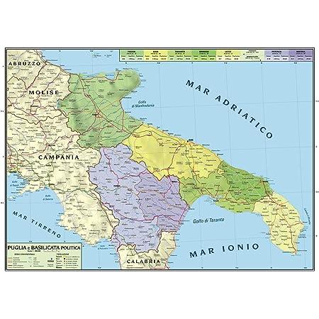 Cartina Geografica Politica Campania.Carta Geografica Murale Regionale Campania 100x140 Bifacciale Fisica E Politica Amazon It Cancelleria E Prodotti Per Ufficio