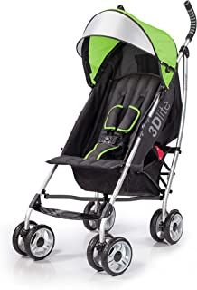 Summer Infant 3DLITE Convenience Lightweight/Compact fold Stroller/Pram for Babies/Infants-( 6 Months to 4 Years)-Tropical...