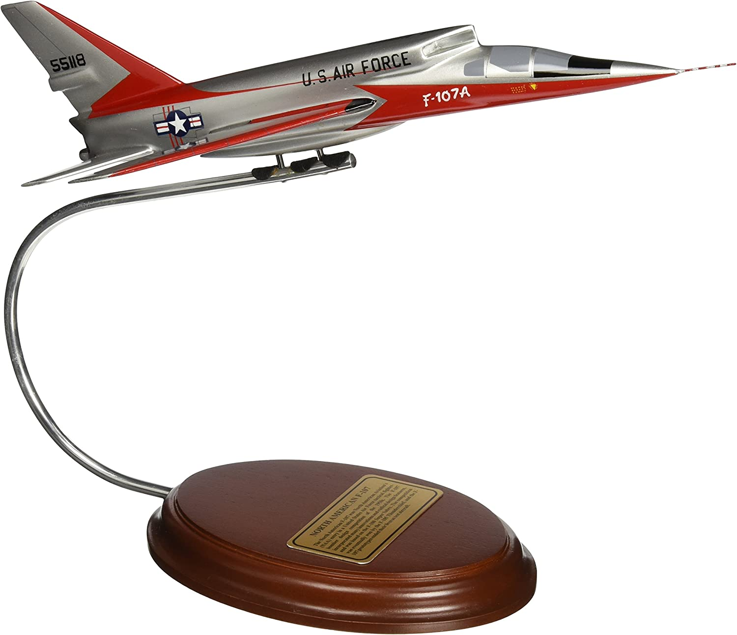 echa un vistazo a los más baratos Mastercraft Collection North American F-107 USAF Air Force Fighter Fighter Fighter Bomber Aircraft Airplane Plane Jet Model Scale  1 61  descuento