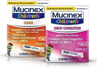 mucinex for kids under 4