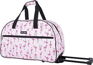 betsey johnson luggage flamingo