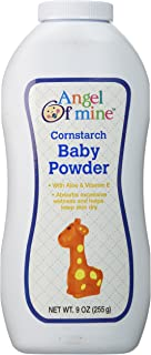Angel of Mine Cornstarch Baby Powder - 9 Oz.