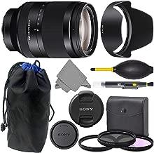 Sony FE 24-240mm f3.5-6.3 OSS: Sony FE 24-240mm f/3.5-6.3 OSS Lens + AOM Pro Starter Kit Combo Bundle - International Version