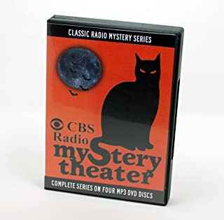 CBS Radio Mystery Theater - Old Time Radio - Complete Series 1399 Episodes - 4 Mp3 Audio DVD