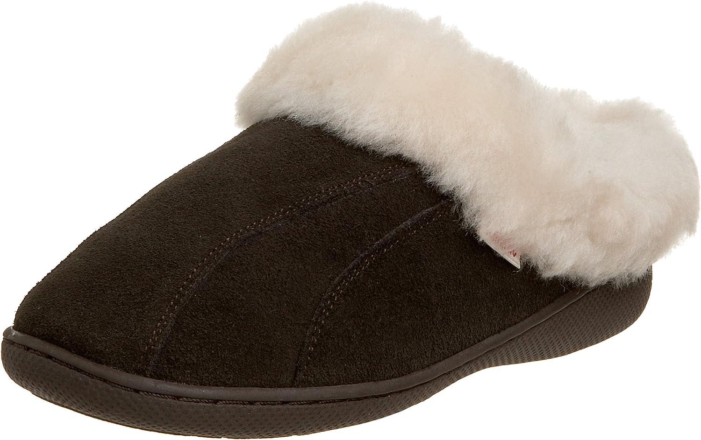 Tamarac by Slippers International Women's Cozy Sheepskin Clog Slipper