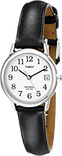 Timex Women's Indiglo Easy Reader Quartz Analog Leather...