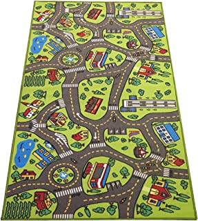 Extra Large 6.6 Feet Long! Kids Carpet Playmat Rug | City...