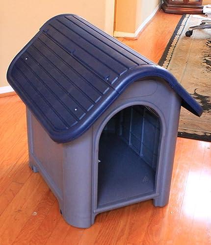 wholesale Blue sale White Dog House high quality Medium Small Dogs NK187B sale