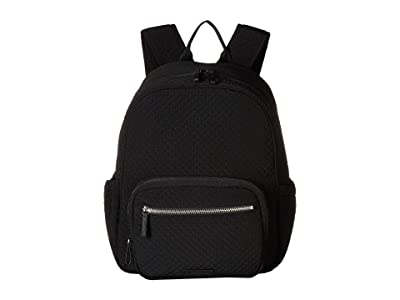 Vera Bradley Iconic Backpack Baby Bag (Classic Black) Backpack Bags
