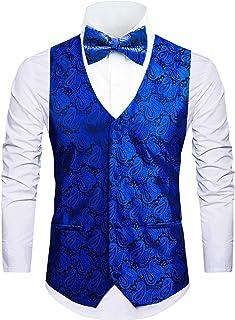 Cyparissus Mens Vest Waistcoat Men's Suit Dress Vest for Men or Tuxedo Vest