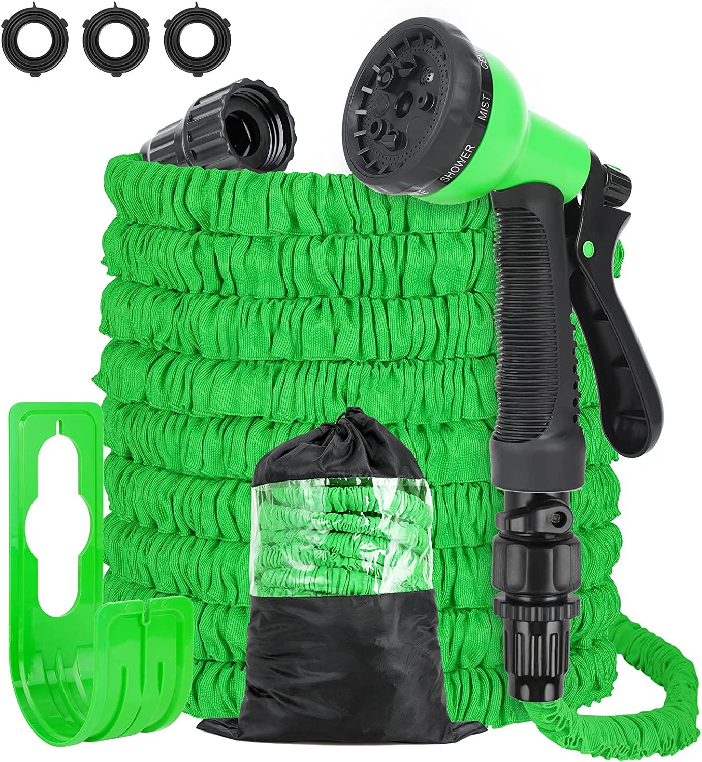 gift Garden Hose All items in the store Kit 100FT Expandable Lat 100% Natural -