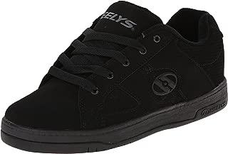Boys' Split Sneaker, Black/White, 4 Medium US Big Kid