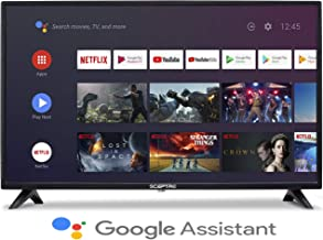 $279 » Sceptre Android TV A515CV-UMC 50-inch 4K UHD Smart LED HD TV Google Assistant Chromecast Bluetooth Remote HDR 3840x2160, Machine Black 2020