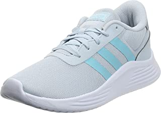 Adidas Lite Racer 2.0 Side-Stripe Back-Logo Lace-Up Running Sneakers for Women