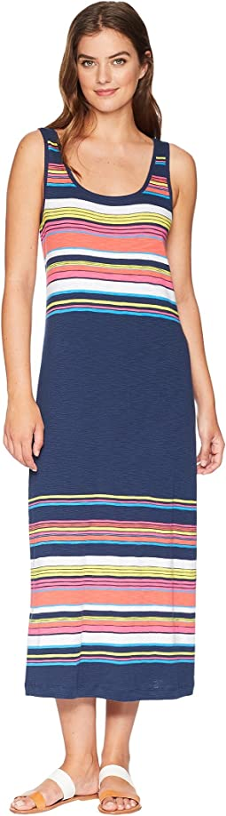 Festival Stripe Midi Dress
