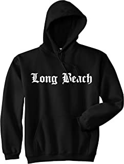 Long Beach State City California CA Pullover Hoodie