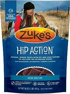 Zuke's Hip Action Hip & Joint Dog Treats Beef Recipe - 16.0 oz Bag