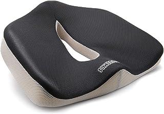 ZOLUIKIS ゲルクッション 二重設計無重力クッション 超通気 腰楽クッション 姿勢矯正 体圧分散 美尻 座り心地 オフィス 車 椅子 自宅用 (699, メモリーフォーム)