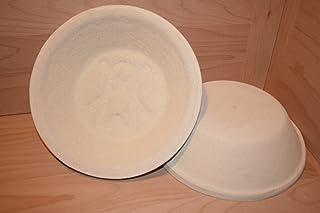 gärkörbchen holzschliff Gärkorb Gärkörbe Brotform Holzschliff 1 kg rund Mühlenmuster incl. Profirezepte